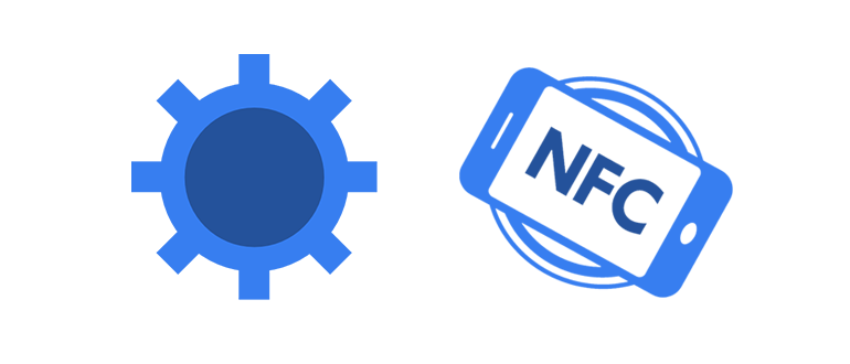 NFC in Phone logo