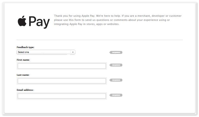 Обратиться в службу поддержки Apple Pay