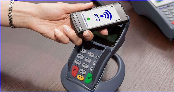 Оплата с помощью NFC