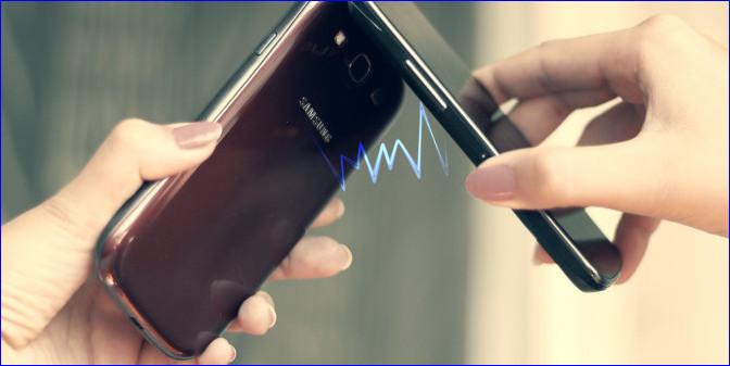 Передача данных через NFC
