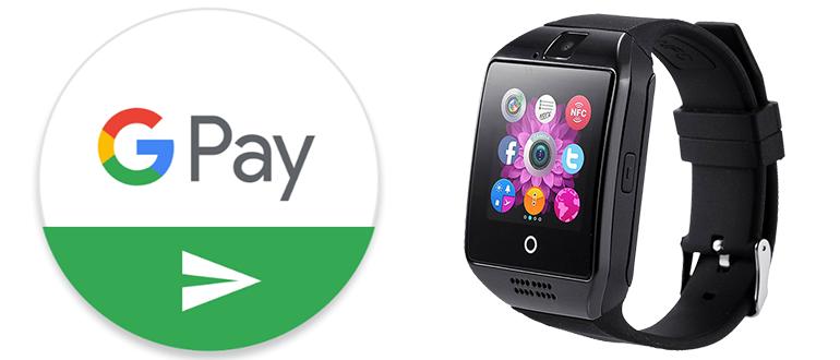 Смарт часы с Google Pay