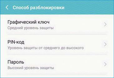 Способы блокировки Android Pay