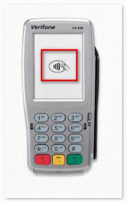 Терминал с функцией PayPass
