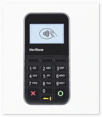 Значок NFC на терминале