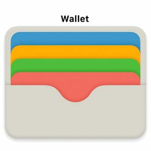 Значок Wallet на iPad