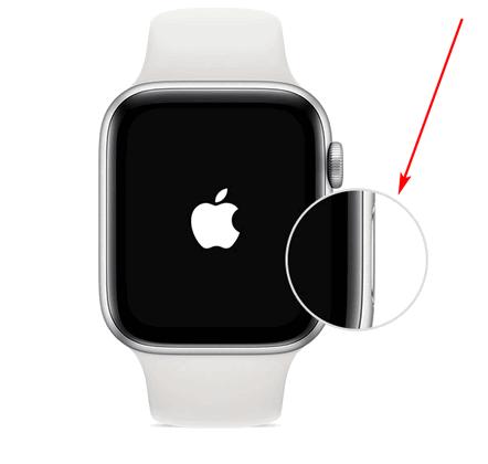Боковая кнопка на Apple Watch