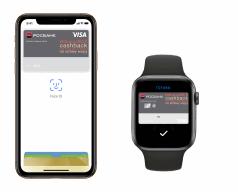 Росбанк с Apple Pay на iPhone и Watch