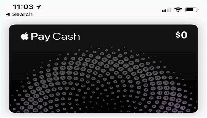 Виртуальная карта Apple Cash