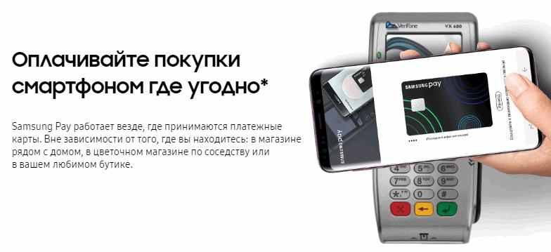 Алгоритм работы Samsung Pay