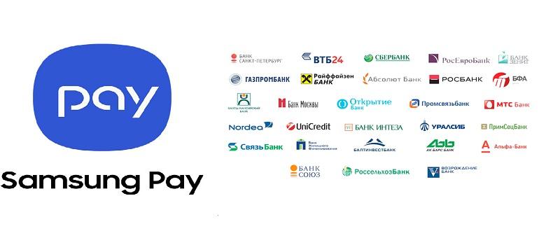 какие банки России поддерживают Samsung Pay
