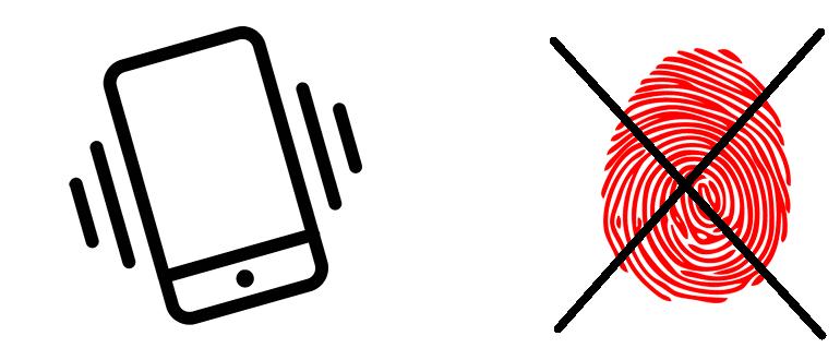 Не работает сканер отпечатков пальцев на телефоне