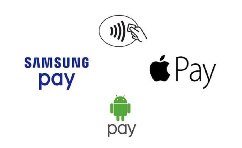 приложения бесконтактной оплаты