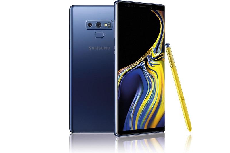 Samsung Galaxy Note 9 со сканером пальцев