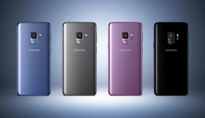Samsung Galaxy S9 + со сканером пальцев