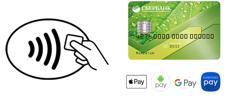 оплата кредитной картой комиссия