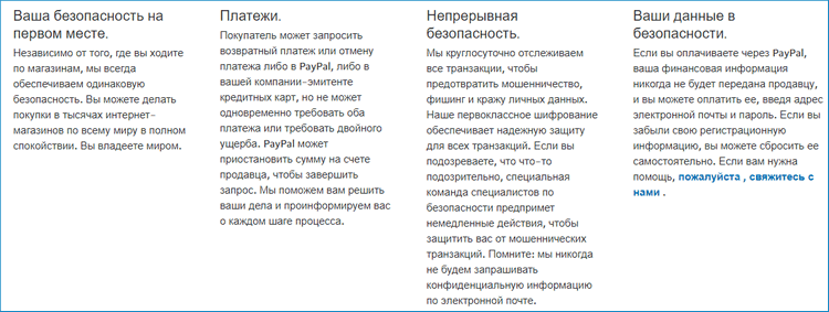 Безопасность в системе PayPal