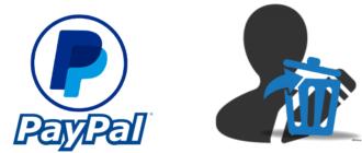 Как удалить учетную запись PayPal
