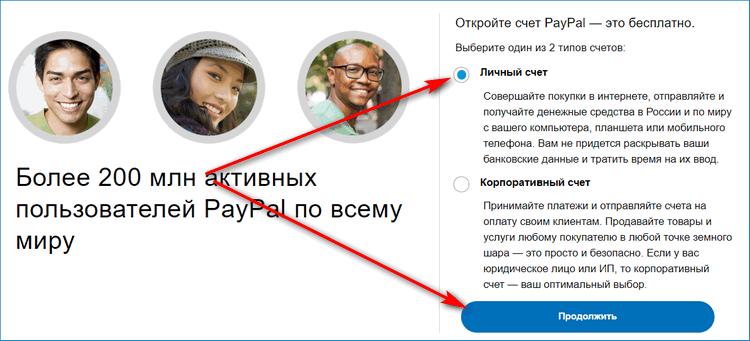 Открытие счета ПейПал в России