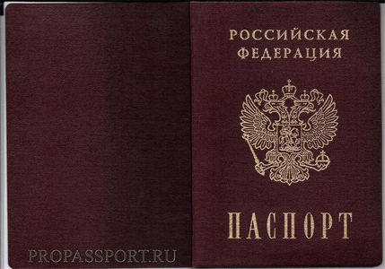 Паспорт для регистрации в ПейПал