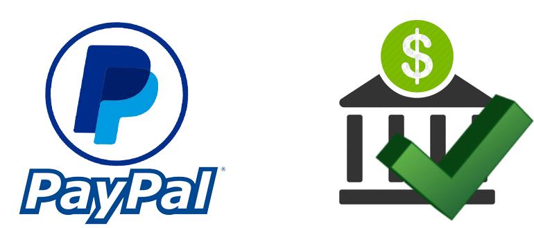 PayPal подтверждение банковского счета - инструкция