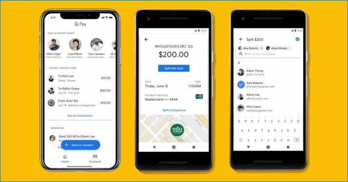 PayPal в сервисе Google Pay