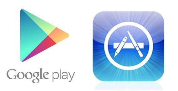 Play Market или AppStore